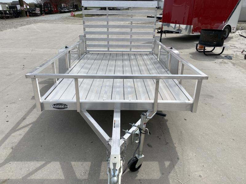 2020 6x10 SA Sport Haven AUT610D Utility Trailer - Aluminum Floor - Tailgate - Aluminum Wheels (GVW:  2990)