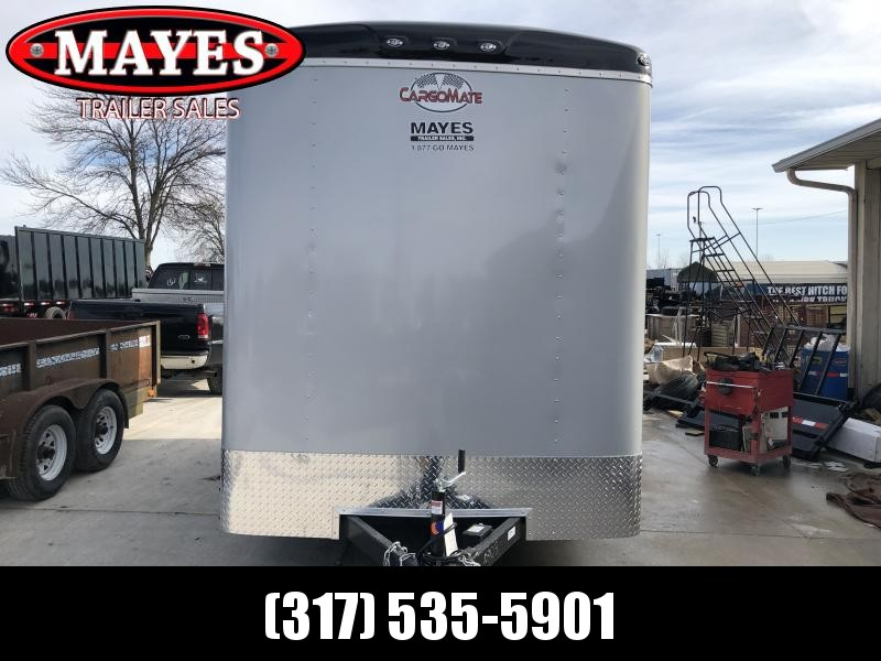 2020 7x14 TA Cargo Mate BL714TA2 Enclosed Cargo Trailer - Ramp Door - Torsion - 12 Inch Additional Height (GVW:  7000)