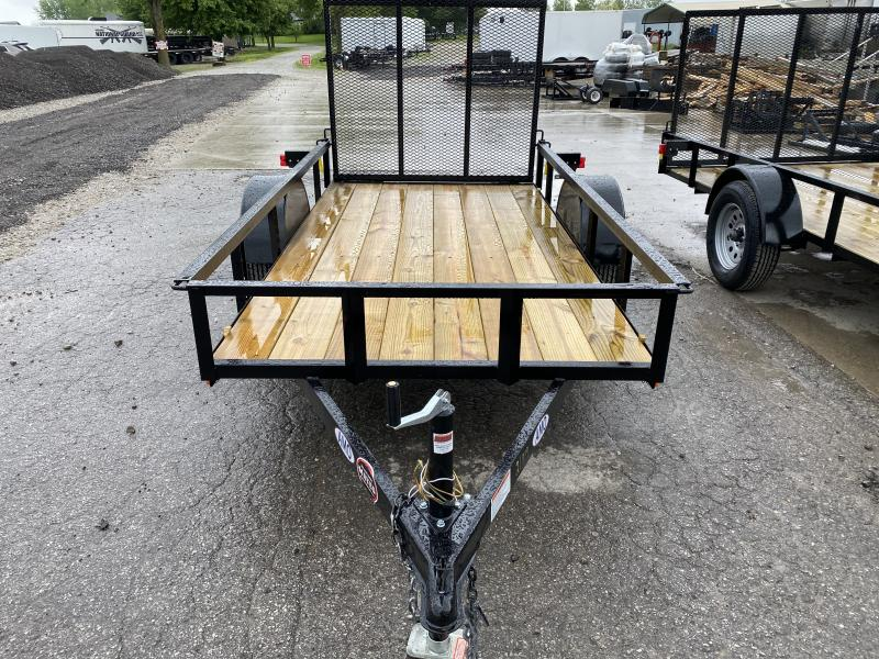 2020 5x10 SA AMO US101 Utility Trailer - Treated Wood Floor - Tailgate (GVW:  2990)