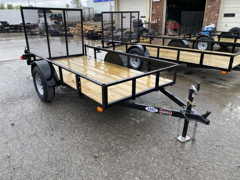 2020 5x10 SA AMO US101 Utility Trailer - Treated Wood Floor - Tailgate (GVW:  2990)
