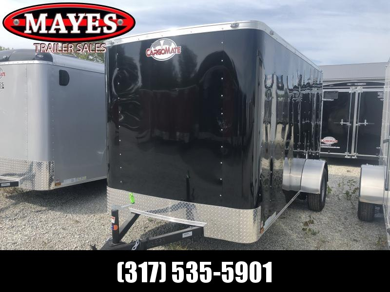 2020 6x12 SA Cargo Mate SS612SA Enclosed Cargo Trailer - Ramp Door - 6 Inch Additional Height - .030 Metal Upgrade (GVW:  2990)