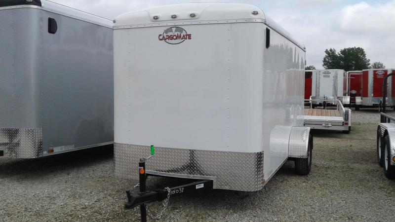 2020 6x12 SA Cargo Mate BL612SA Enclosed Cargo Trailer - Double Door with Dual Cambars (GVW:  2990)