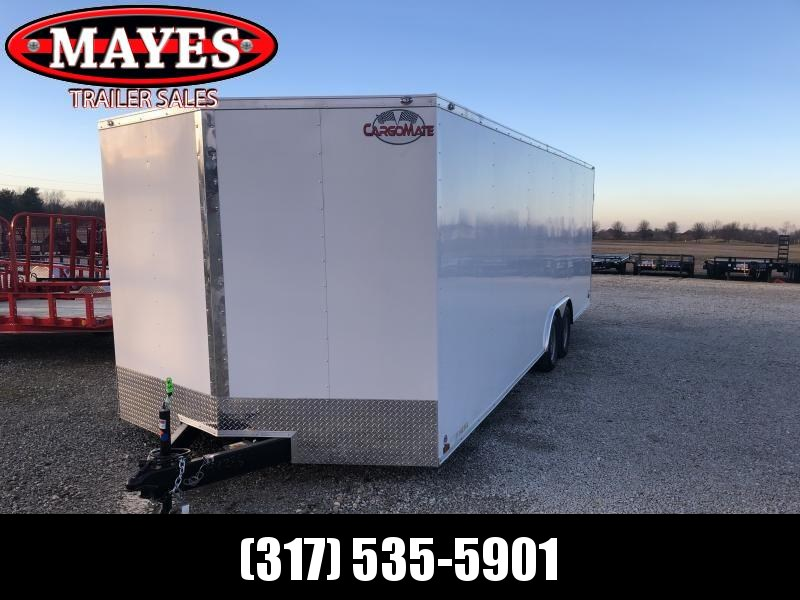 2021 102x24 Cargo Mate EHW8.524TA2 Enclosed Cargo Trailer - Ramp Door (GVW:  7000)