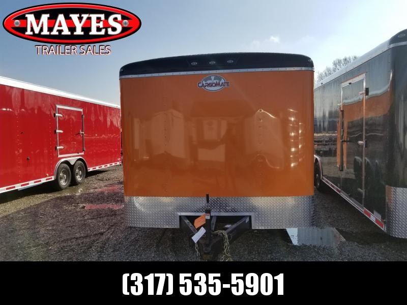 2021 102x24 TA Cargo Mate BL824TA3 Enclosed Cargo Trailer - Ramp Door - 102 Wide Body Design - Spray On Floor - Torsion Axles - E-Tracking (GVW:  9800)
