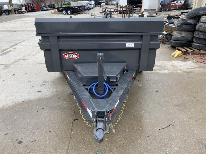 2020 5x8 Load Trail DS Dump Trailer -  (Split/Spreader Gate)(Ramps)(GVW: 5080) *Gray Powdercoat*