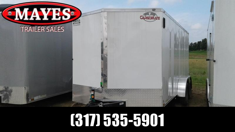 2019 7x16 TA Cargo Mate EHW716TA2 Enclosed Cargo Trailer - Double Door (GVW:  7000)