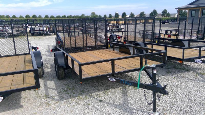2020 76x10 SA American Manufacturing Operations (AMO) US101 Utility Trailer - Trailer (GVW:  2990)