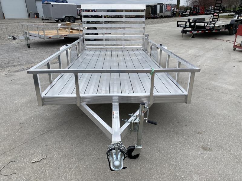 2020 6x12 SA Sport Haven AUT612d Utility Trailer - Aluminum Floor - Tailgate - Aluminum Wheels (GVW:  2990)