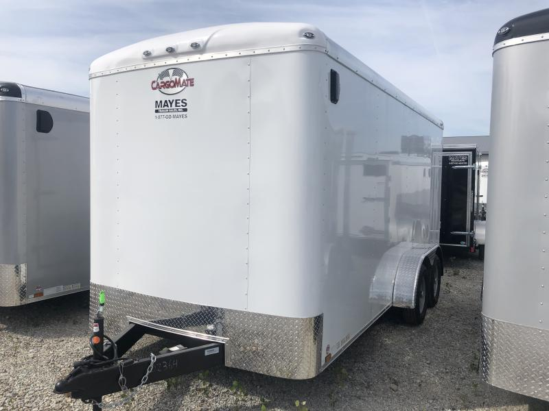2020 7x16 TA Cargo Mate BL716TA2 Enclosed Cargo Trailer - Ramp Door - 6 Inch Additional Height - 48 Inch Side Door Upgrade (GVW:  7000)