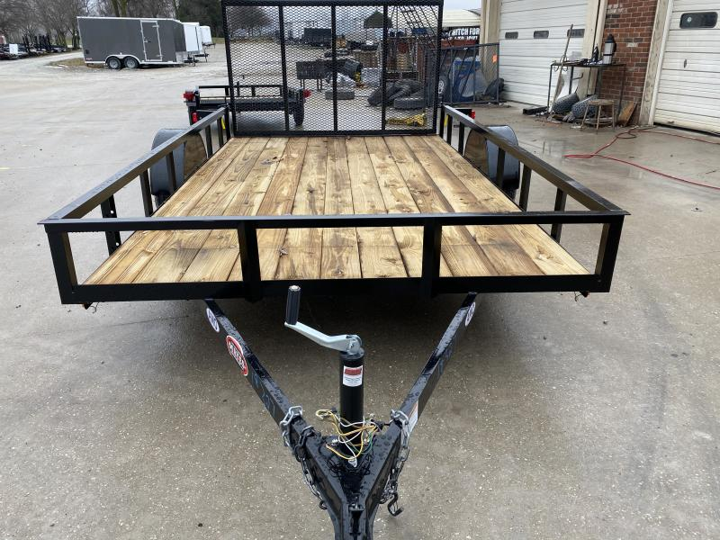 2020 82x12 SA AMO US121 Utility Trailer - Treated Wood Floor - Tailgate (GVW:  2990)