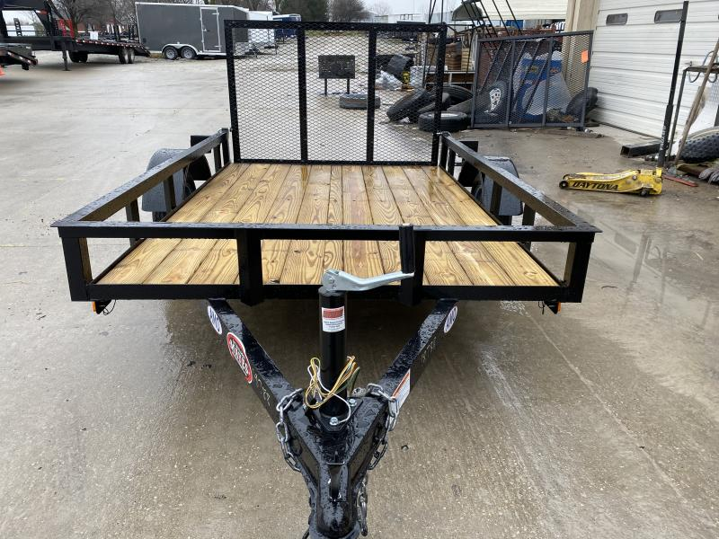 2020 5x8 SA American Manufacturing Operations (AMO) UL081 Utility Trailer - Tailgate (GVW:  2000)