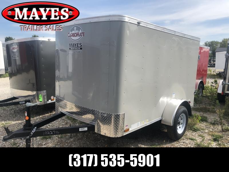 2020 5x8 SA Cargo Mate SS58SA Enclosed Cargo Trailer - .030 Metal Upgrade - Single Rear Door (GVW:  2000)