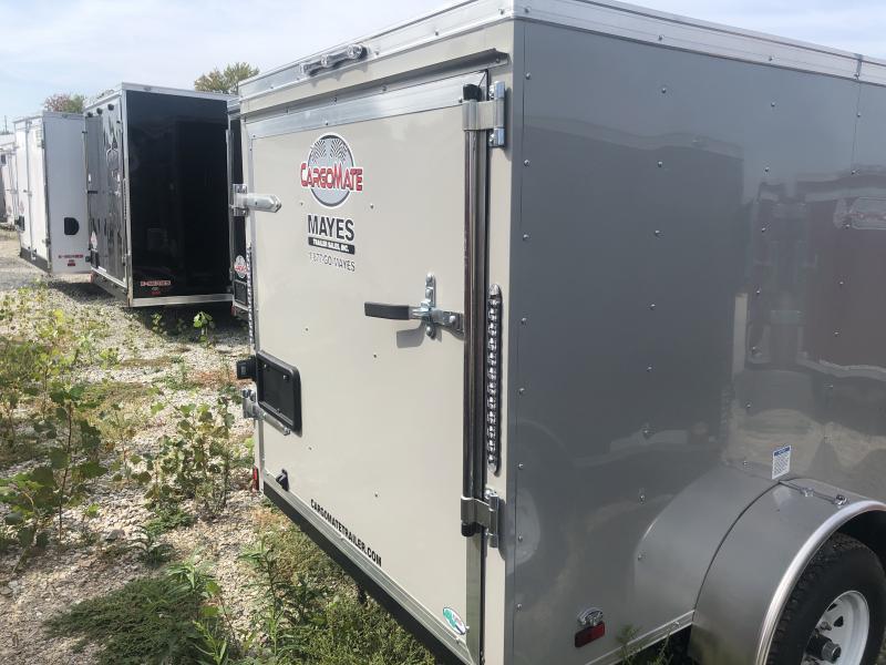 2020 5x8 SA Cargo Mate SS58SA Enclosed Cargo Trailer - .030 Metal Upgrade - Single Rear Door (GVW:  2000)