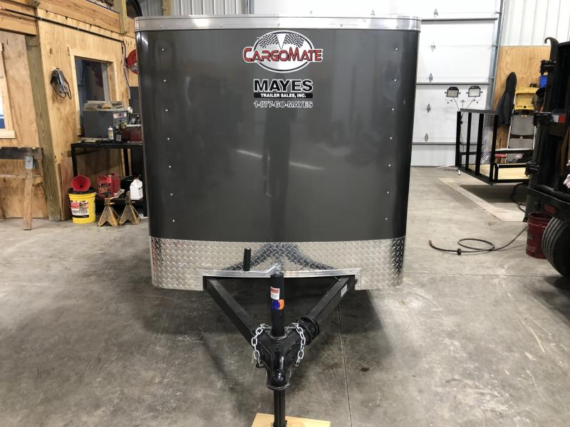 2020 5x8 SA Cargo Mate SS58SA Enclosed Cargo Trailer - Single Rear Door - .030 Metal Upgrade (GVW:  2000)
