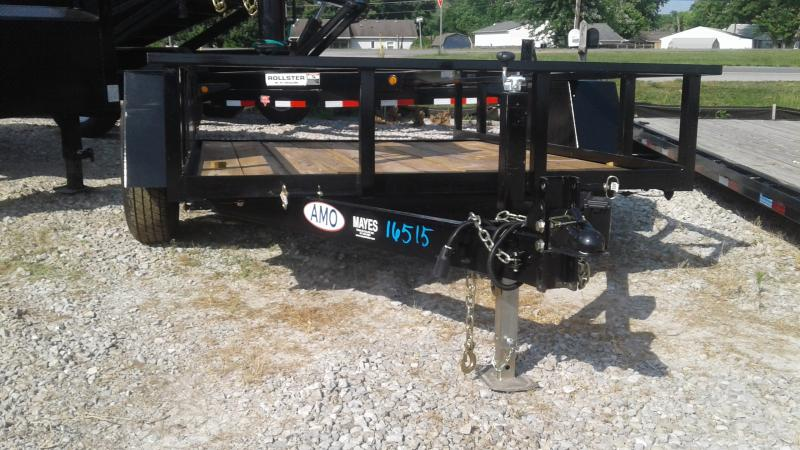 2019 76x10 American Manufacturing Operations (AMO) UF121 Utility Trailer