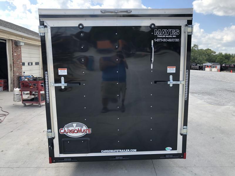 2020 6x12 SA Cargo Mate SS612SA Enclosed Cargo Trailer - Ramp Door - 6 Inch Additional Height (GVW:  2990)