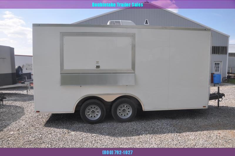 2020 Spartan 8.5X16TA Vending / Concession Trailer