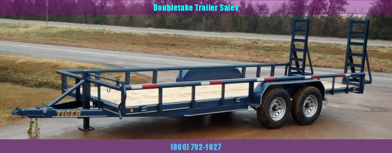 2020 Tiger TPTBP Open Utility Trailer