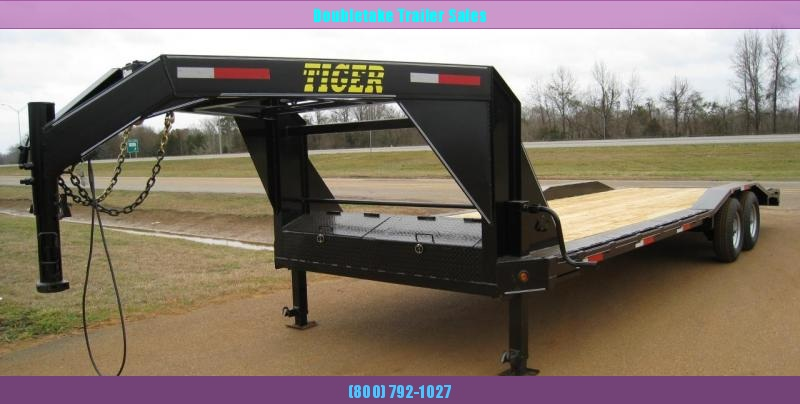 2020 Tiger T102X24GN Open Equipment Trailer