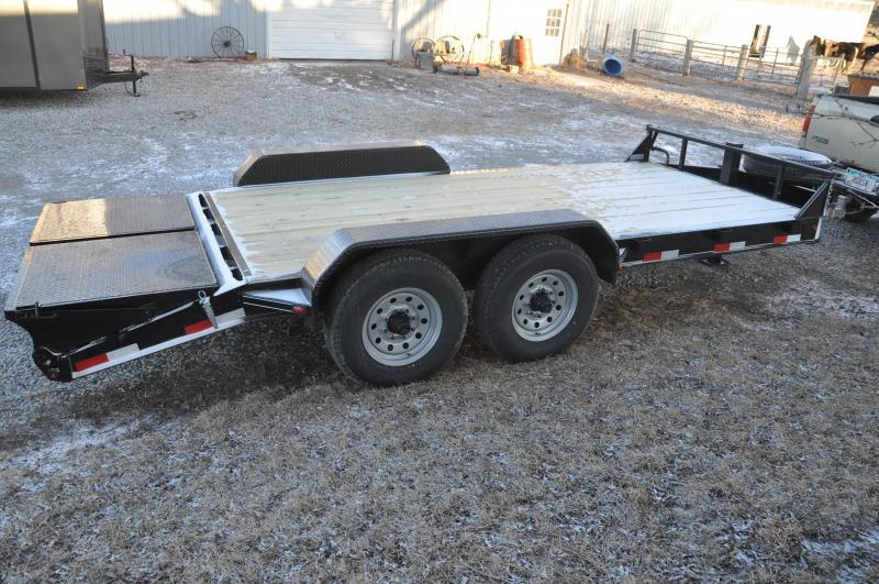 2020 Titan Trailers 14KLG Open Equipment Trailer