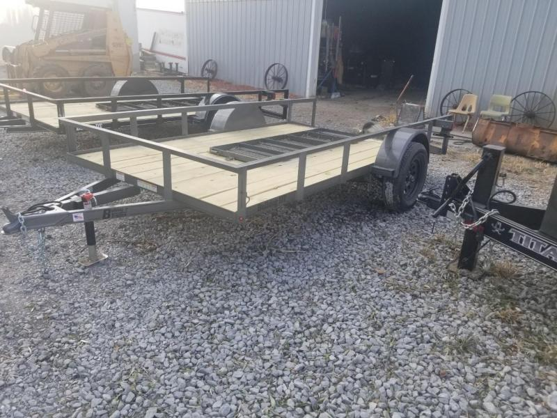 2020 Bulldog 76x12DT Open Utility Trailer