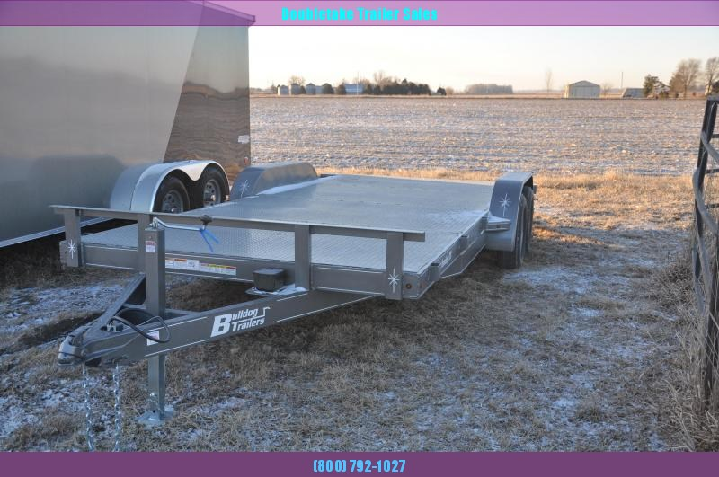 2020 Bulldog 7X18CH Car / Racing Trailer
