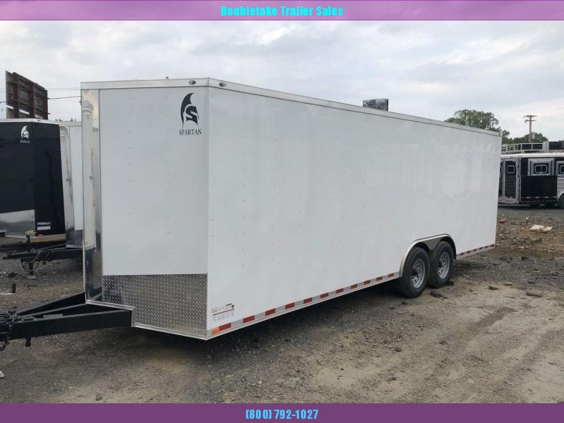 2020 Spartan 8.5X24TTA Car / Racing Trailer