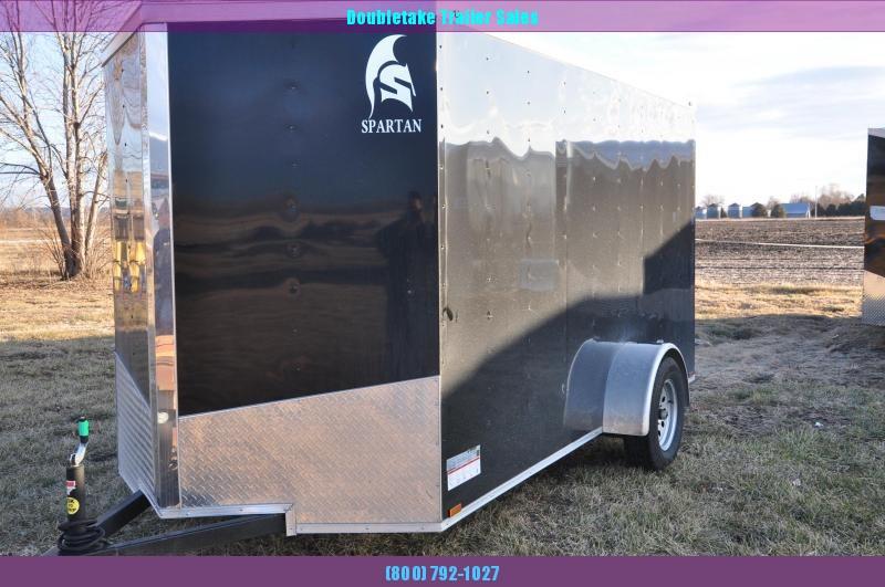 2020 Spartan Cargo 6x12SA Enclosed Cargo Trailer