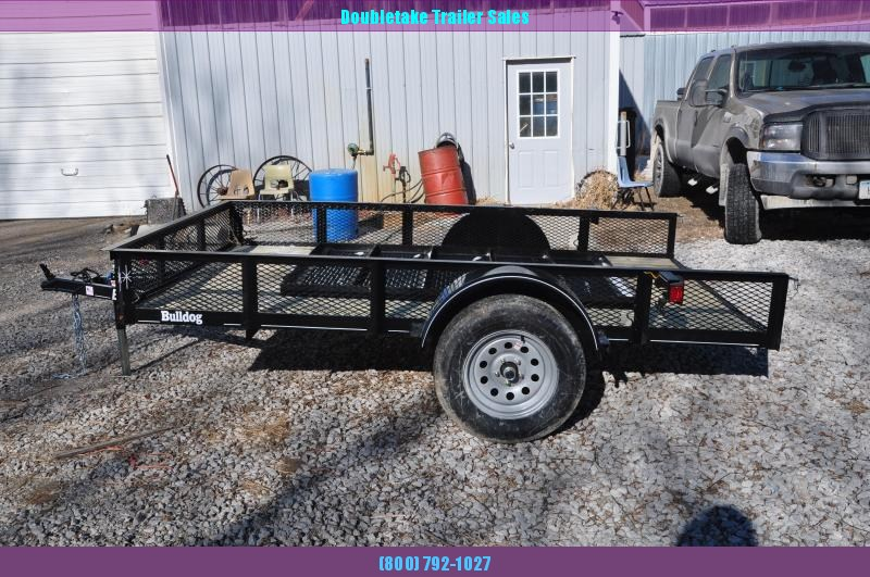 2020 Bulldog 76x10sa  Open Utility Trailer