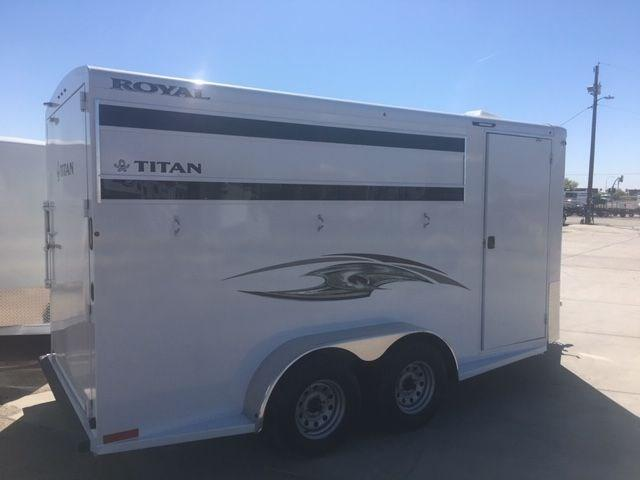 2020 Titan Trailers ROYAL Horse Trailer