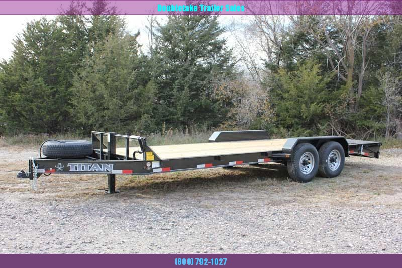 2019 Titan Trailers TLG Equipment Trailer