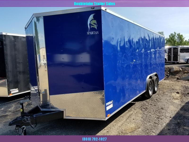 2020 Spartan 8.5X20TTA Enclosed Cargo Trailer