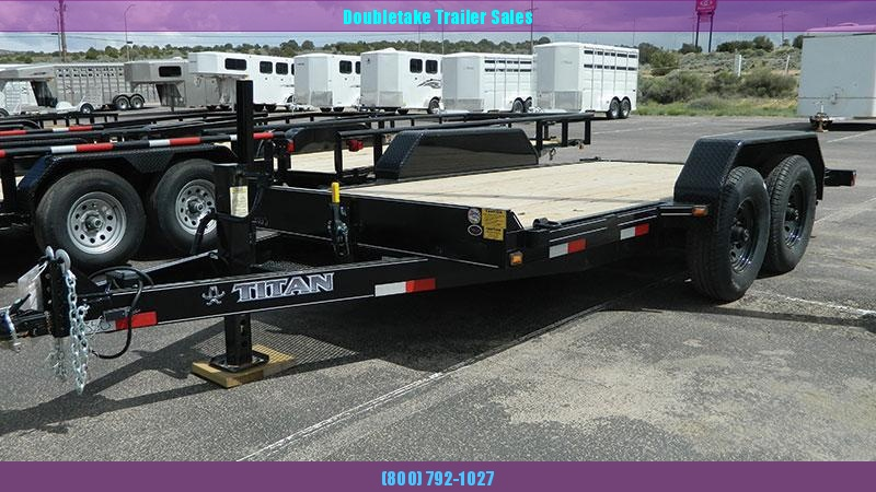 2020 Titan Trailers TILT DECK Equipment Trailer