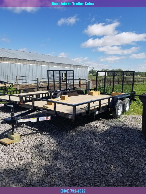 2020 Liberty LU7K83X16 Open Utility Trailer