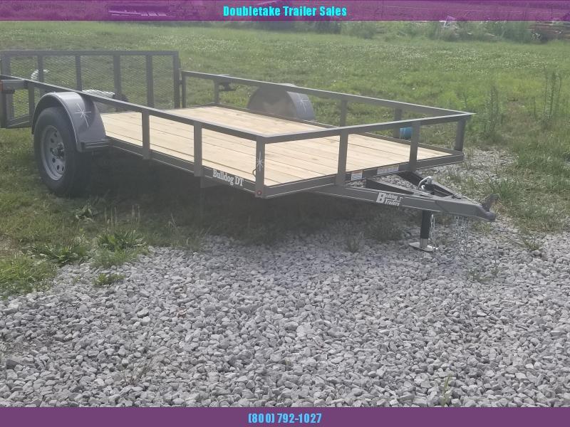2019 Bulldog DT76X12 Utility Trailer