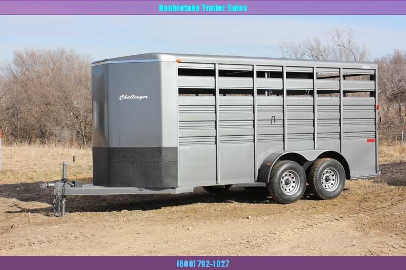 2020 Titan Trailers TC16S Livestock Trailer