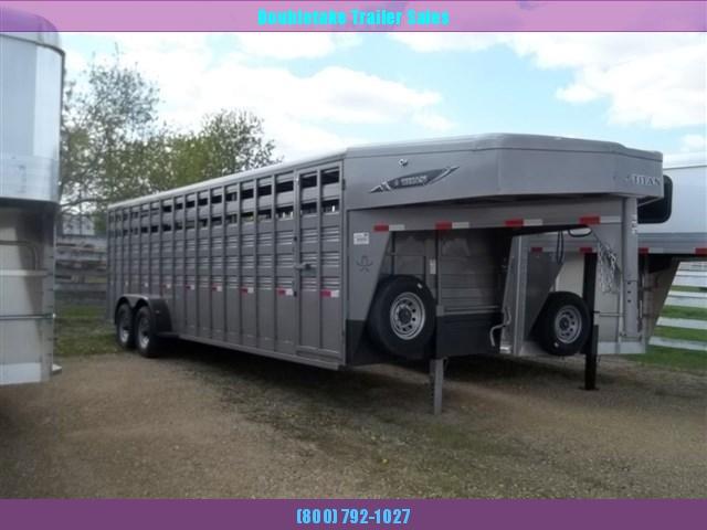 2020 Titan Trailers Titan Standard Livestock Livestock Trailer