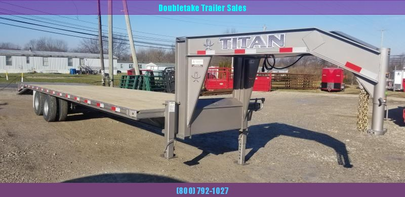 2020 Titan Trailers T266R Open Flatbed Trailer