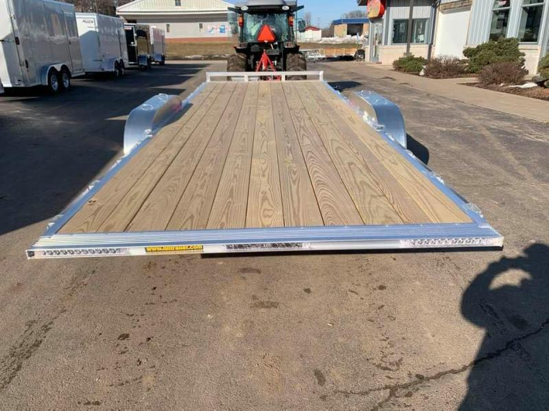 "2020 H & H 82"" X 20' Aluminum 10k Speedloader EXA Power Tiltbed Car / Racing Trailer"