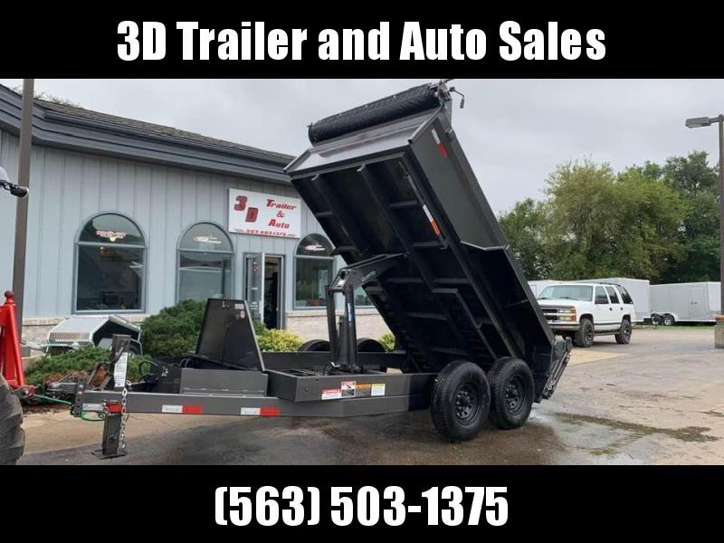 "2019 Travalong 82"" X 12' 14K Commercial Dump Bed Trailer"
