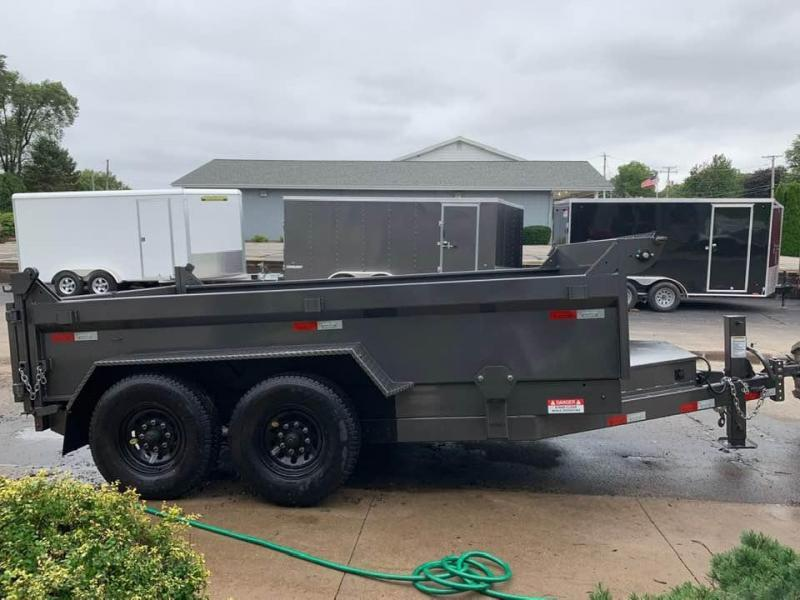 "2019 Travalong 82"" X 12' 14K Commercial Dump Bed Trailer"