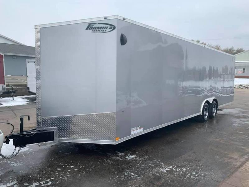 2020 Formula 8.5' x 28' x 7' 10k Triumph Enclosed Car Trailer