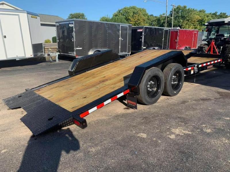 2020 Midsota 22' 17600LB Tilt Bed Equipment Trailer