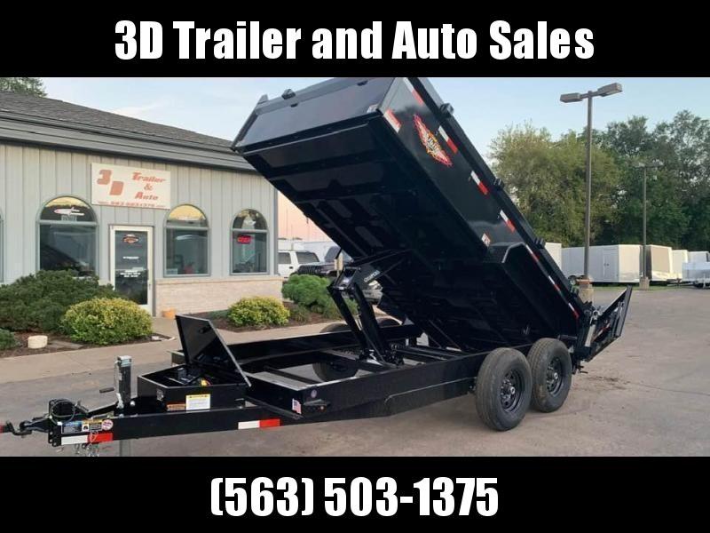 "2020 H & H 83""x14' 14k Dump Trailer"