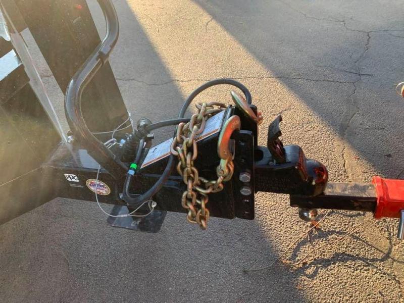 "2020 Midsota TBWB 102"" x 22' 17600LB GVWR Wide Body Drive Over Fenders Tilt Bed Equipment Trailer"
