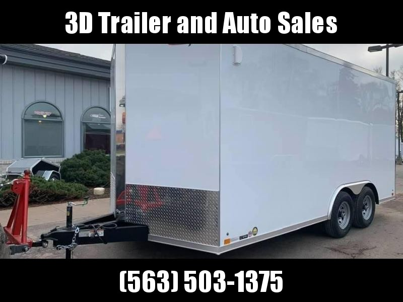 2020 Cross Trailers 8.5' X 16' X 7' 10K GVWR ENCLOSED TRAILER Enclosed Cargo Trailer