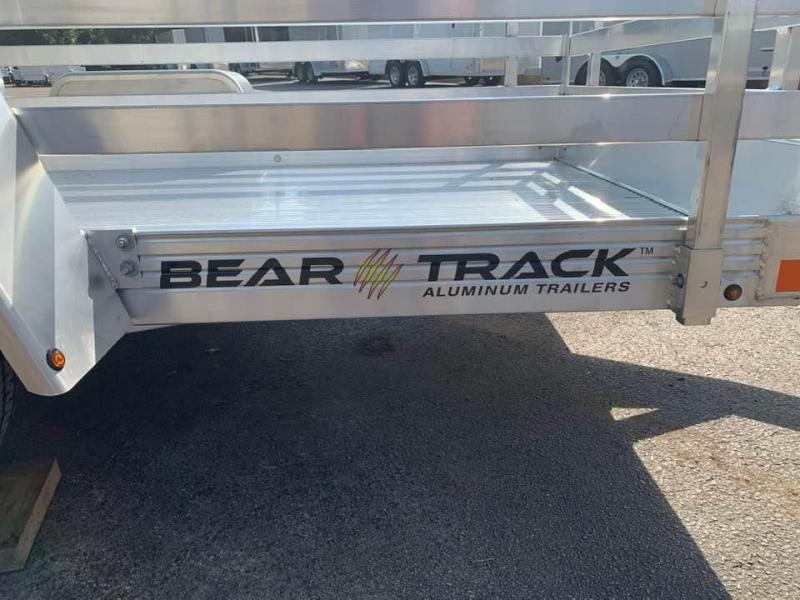 "2020 Bear Track 53"" x 8' Bifold Gate Utility Trailer"