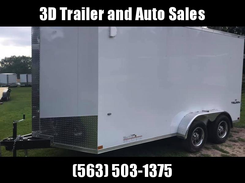 2020 Formula 7' x 14' x 7' 7k Triumph UTV PACKAGE Enclosed Trailer