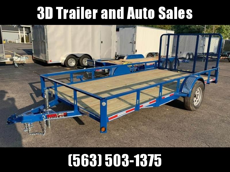 2020 Heartland 7' x 14' ATV TRAILER 4' Gate Open Utility Trailer