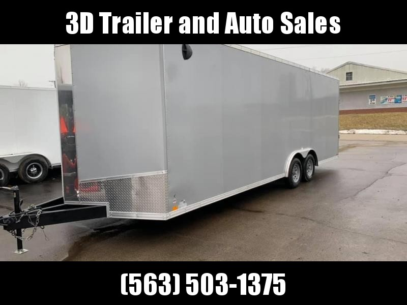 2020 Discovery 8.5' X 24' X 7' 7K CHALLENGER RAMP DOOR ENCLOSED CARGO TRAILER